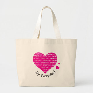 Love My Everyday Canvas Bags