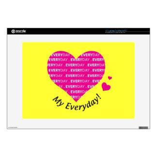 Love My Everyday Laptop Skin