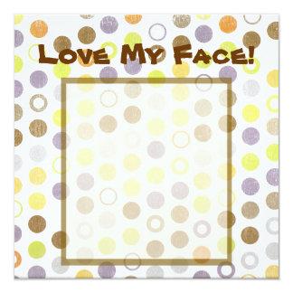 Love My Face! Invitation