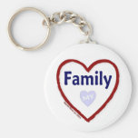 Love My Family Key Chains