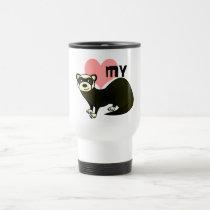 Love My Ferret - Sable Travel Mug