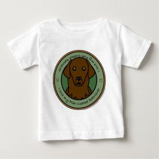 Love My Flat Coat Baby T-Shirt