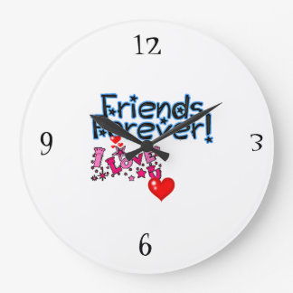 ***LOVE MY FRIEND*** FUN CLOCK