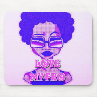 Love My Fro Mousepad