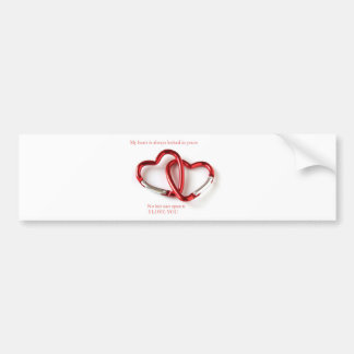 Love my from my heart bumper stickers