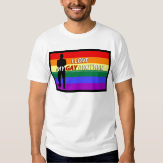 love my gay brother t shirt