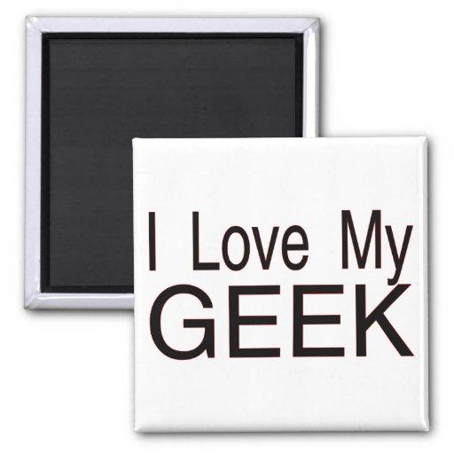 Love My Geek Fridge Magnets