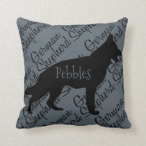 Love My German Shepherd Dog Pillow