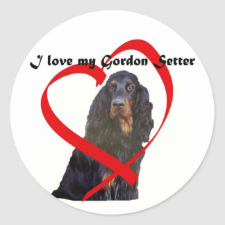 love my Gordon Setter stickers