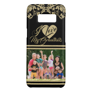 Love My Grandbabies with Photo Case-Mate Samsung Galaxy S8 Case