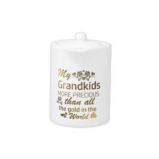 Love my Grandkid designs Teapot