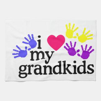 Love My Grandkids Kitchen Towels