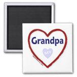 Love My Grandpa Magnets