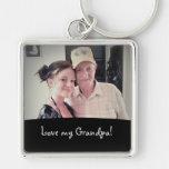 Love My Grandpa: Picture Keychain