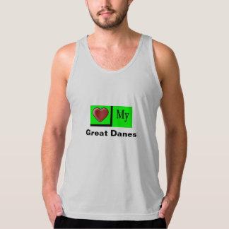 """Love My Great Danes Men's Muscle Shirt"" Tank Top"