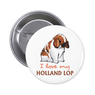LOVE MY HOLLAND LOP BUTTONS