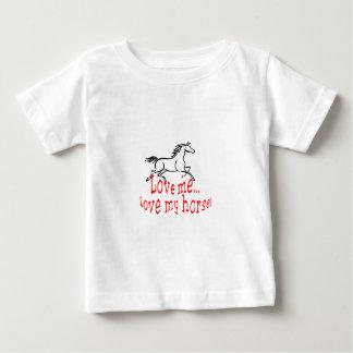 Love My Horse Baby T-Shirt