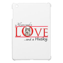 Love My Husky iPad Case