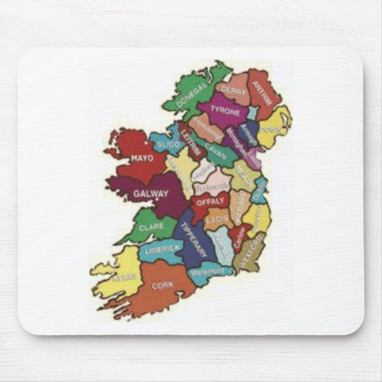 LOVE MY  IRISH ROOTS MOUSE PAD