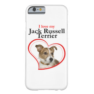 Love My Jack Russell Terrier Smartphone Case