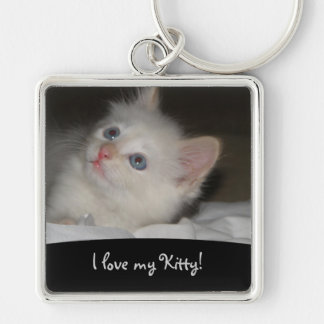 Love My Kitty: Picture Keychain