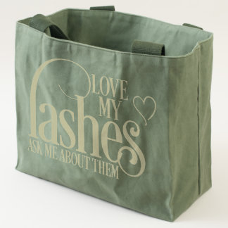 Love my Lashes - Canvas Tote