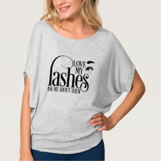 Love my Lashes Flowy T-Shirt