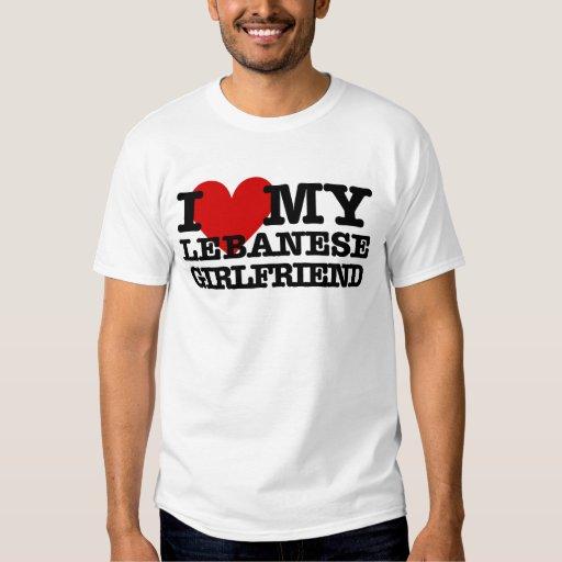 Love My Lebanese Girlfriend T-shirt