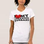 Love My Lebanese Husband Tee Shirt