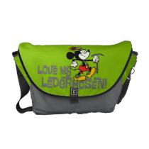 Love My Lederhosen! Messenger Bag at Zazzle