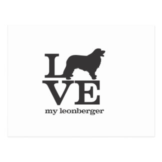 Love my Leonberger Postcard