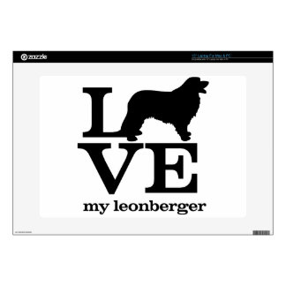 Love my Leonberger Skin For Laptop