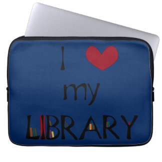 Love My Library - Change Color Laptop Sleeve
