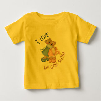 Love my little Sister Baby T-Shirt