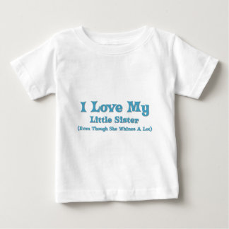 Love My Little Sister Baby T-Shirt