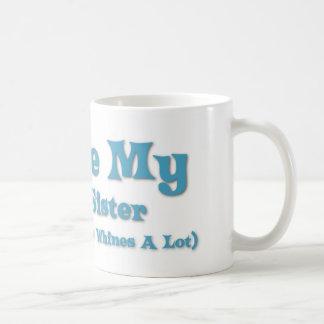 Love My Little Sister Coffee Mug