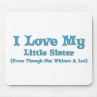 Love My Little Sister Mouse Pad