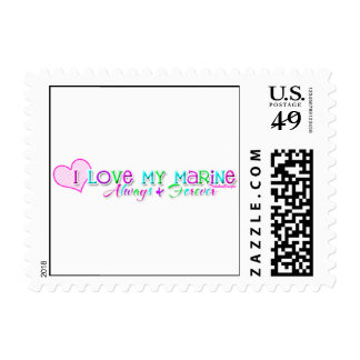 Love My Marine Postage