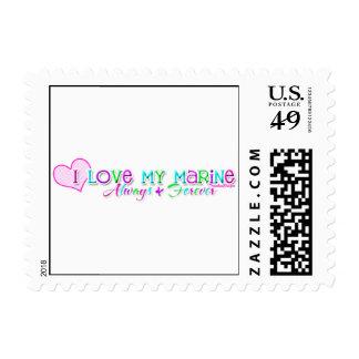 Love My Marine Stamp