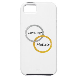 Love My Metals iPhone 5 Covers