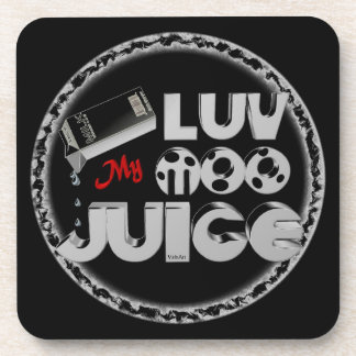 Love My Moo Juice template Valxart.com Coaster