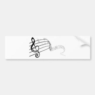 Love My Music Bumper Sticker