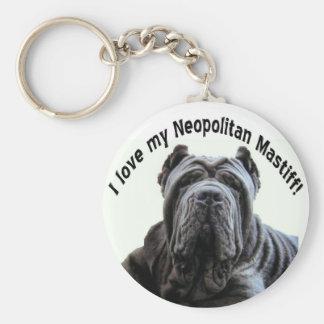 love my Neopolitan Mastiff keychain