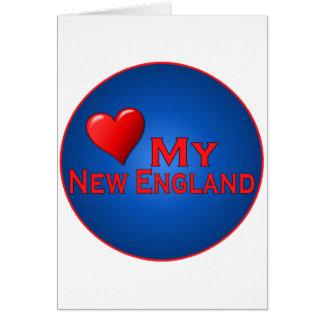Love My New England Fan Club Items Card