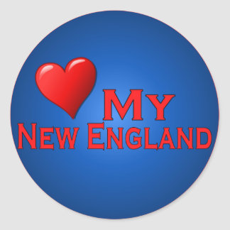 Love My New England Fan Club Items Stickers