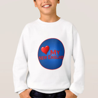 Love My New England Fan Club Items Sweatshirt