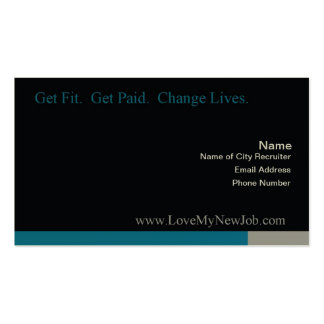 Love My New job Biz Card Double-Sided Standard Business Cards (Pack Of 100)