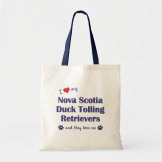 Love My Nova Scotia Duck Tolling Retrievers (They) Tote Bag