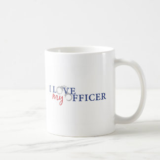 Love My Officer Classic White Coffee Mug