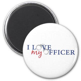 Love My Officer Magnet